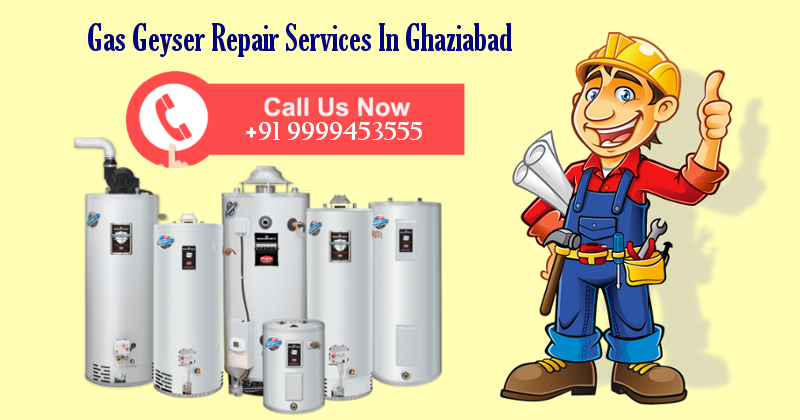 Gas Geyser Repair Services in Ghaziabad