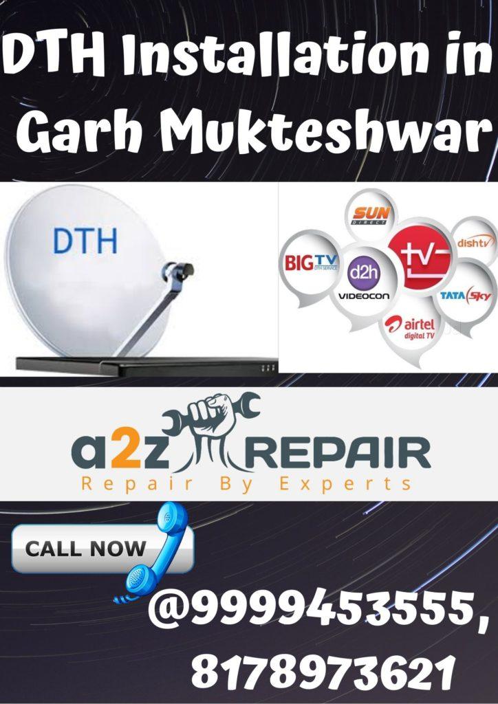 DTH Installation in Garh Mukteshwar