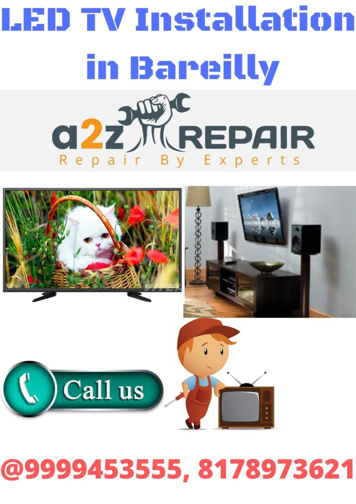 LED TV Installation in Bareilly