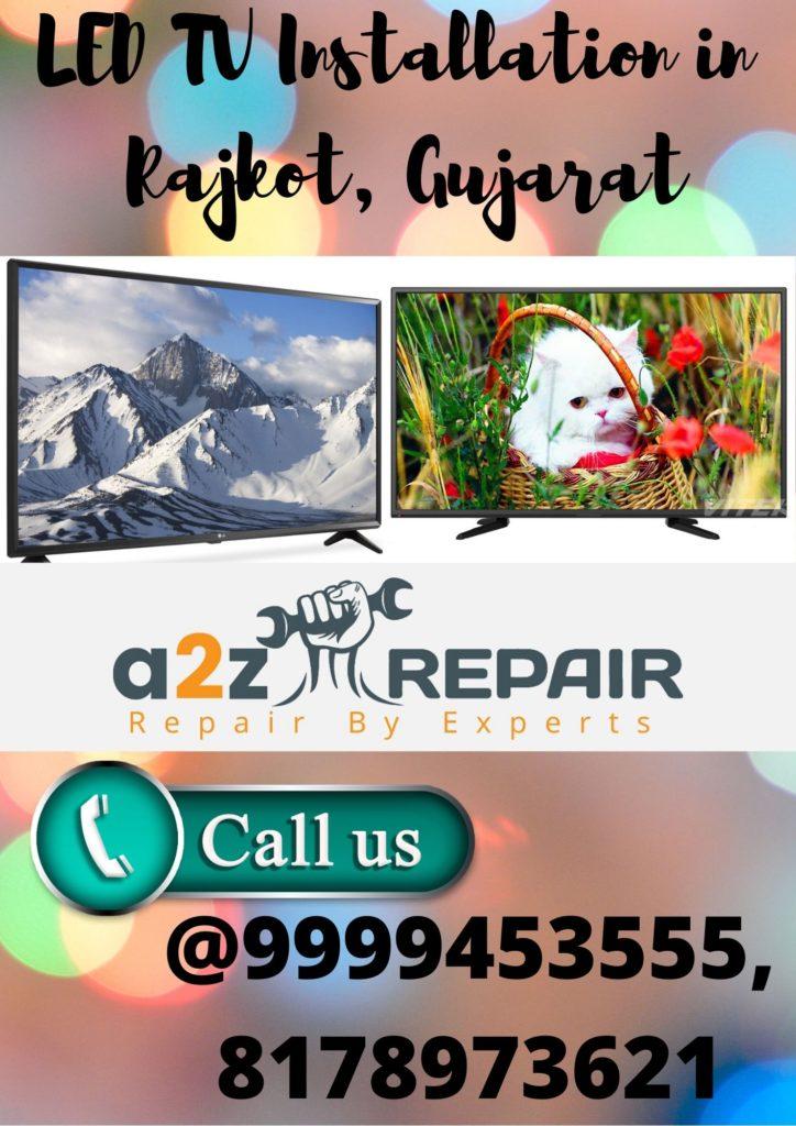 LED TV Installation in Rajkot, Gujarat