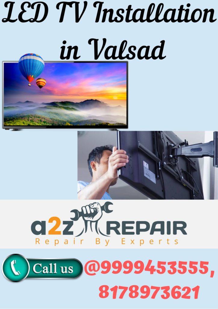 LED TV Installation in Valsad