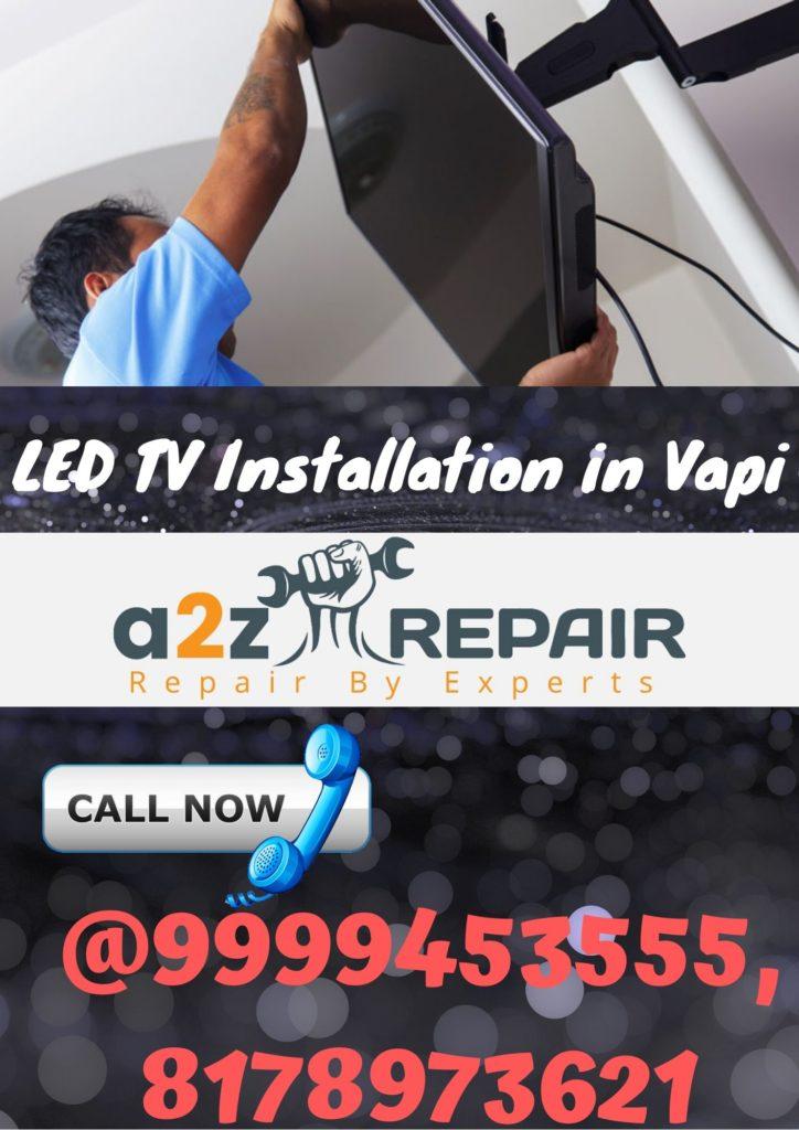 LED TV Installation in Vapi