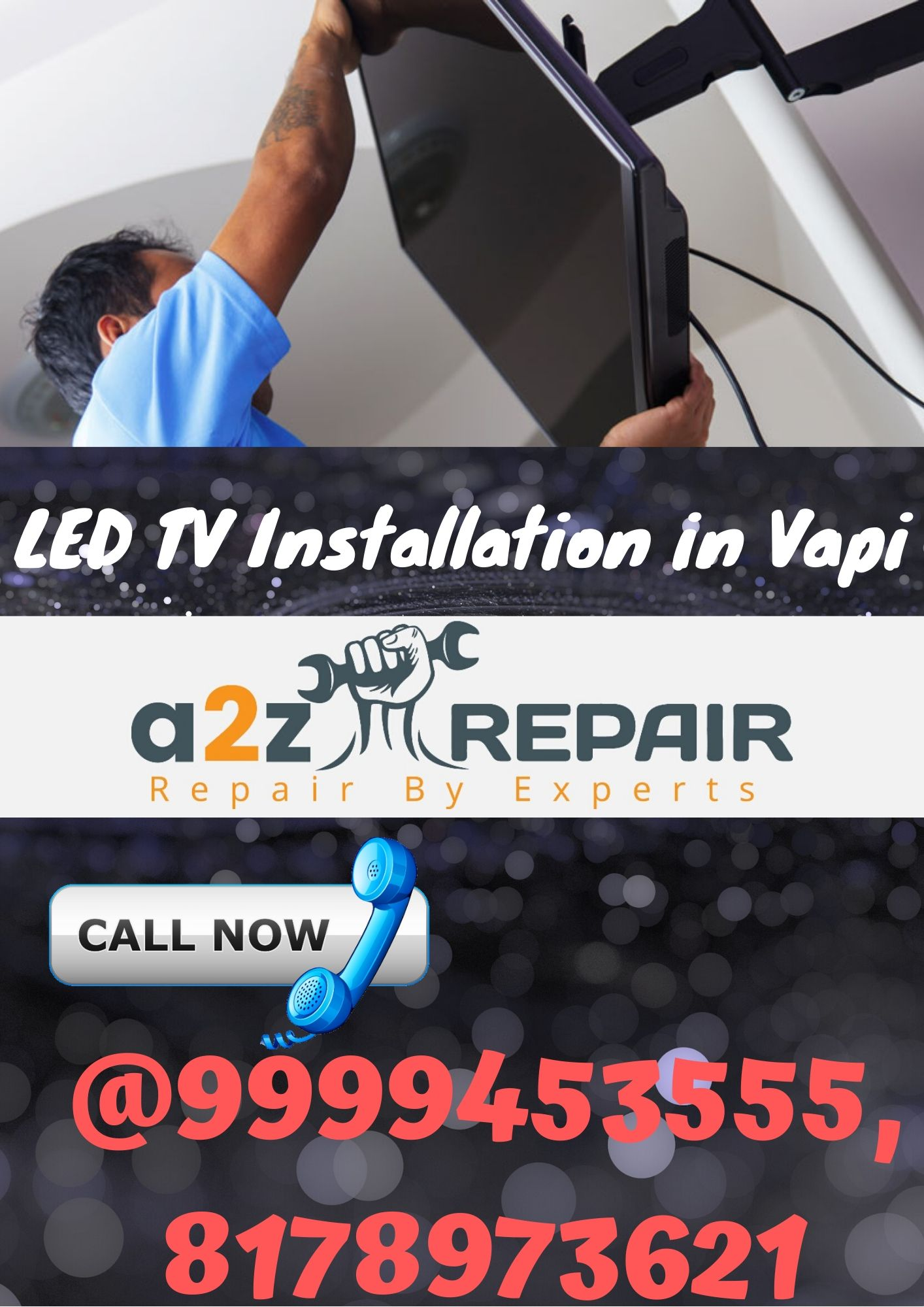 LED TV Installation