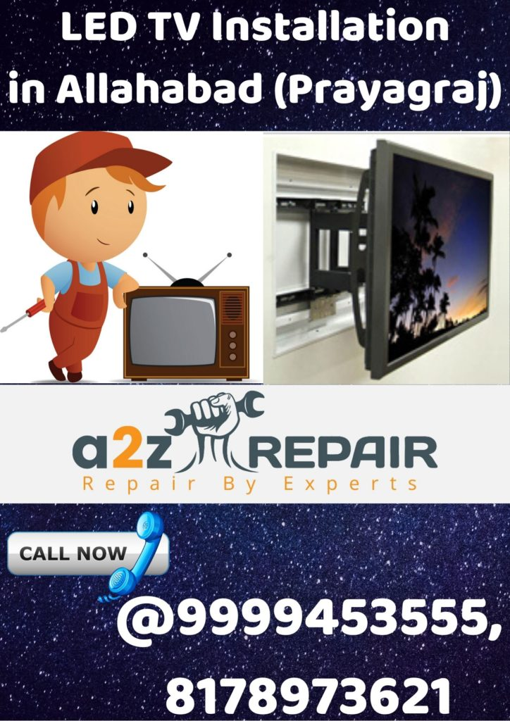 LED TV Installation in Allahabad (Prayagraj)