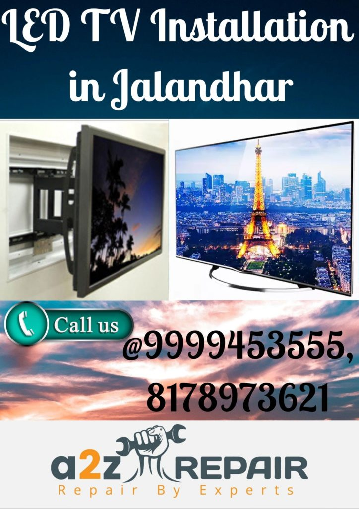 LED TV Installation in Jalandhar