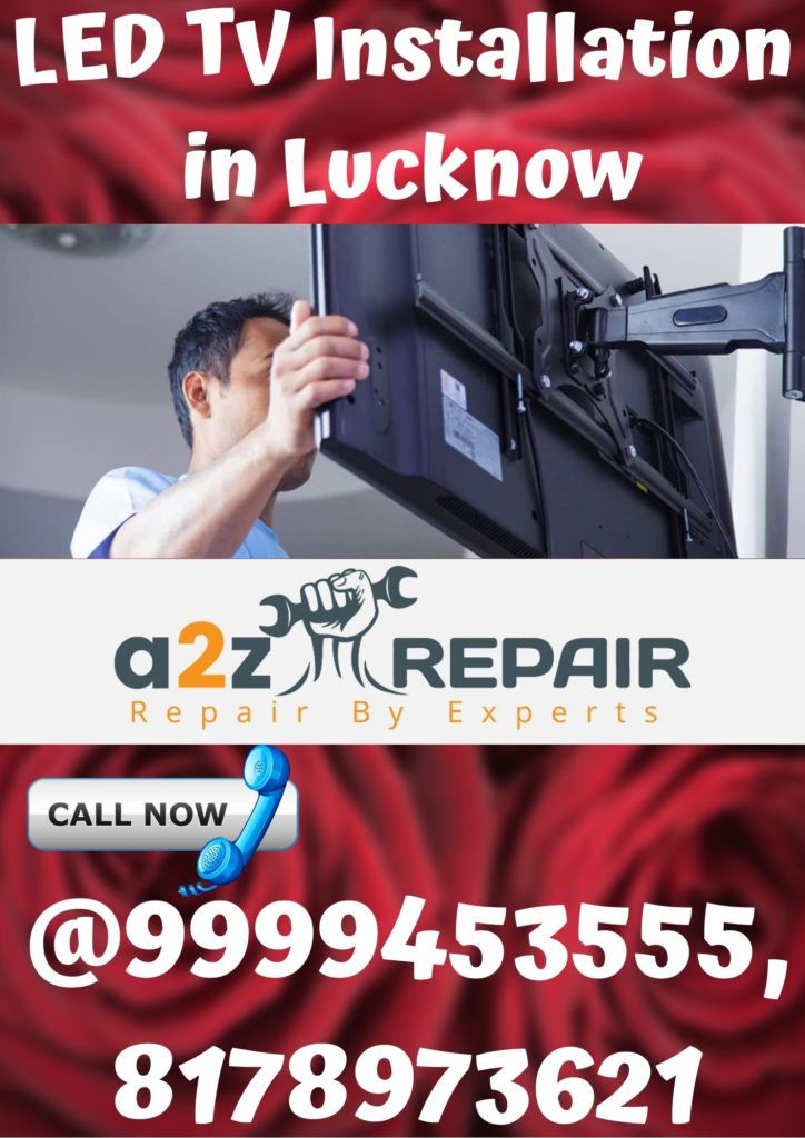 LED TV Installation in Lucknow