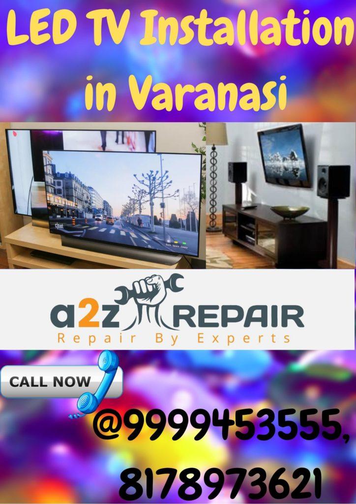 LED TV Installation in Varanasi