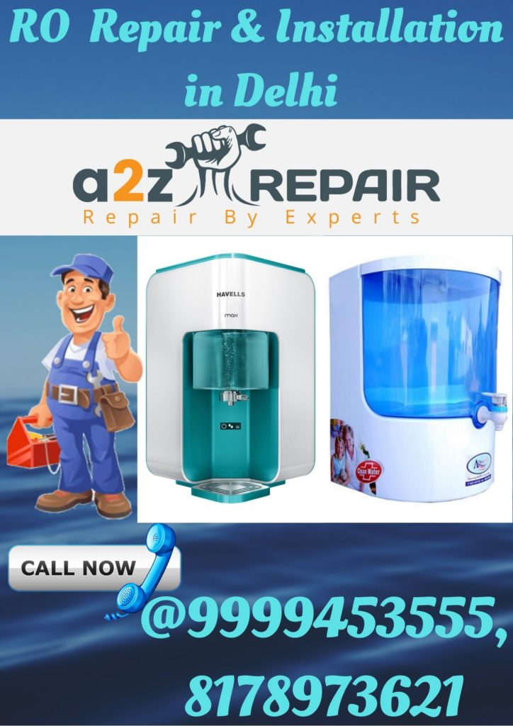 RO Repair & Installation in Delhi