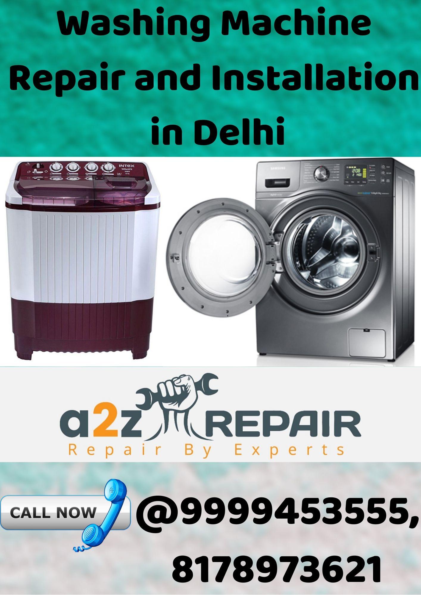 Washing Machine Repair & Installation
