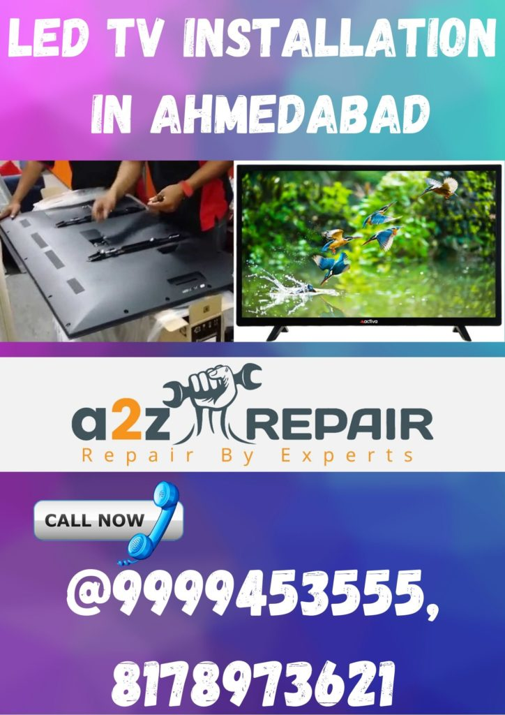 LED TV Installation in Ahmedabad