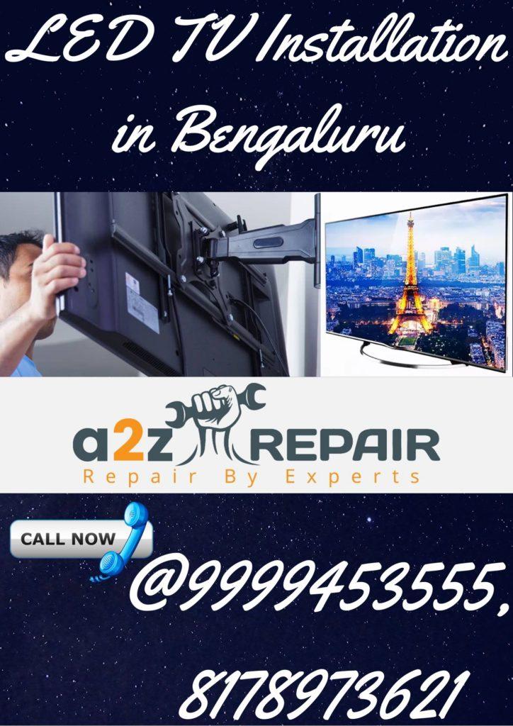 LED TV Installation in Bengaluru