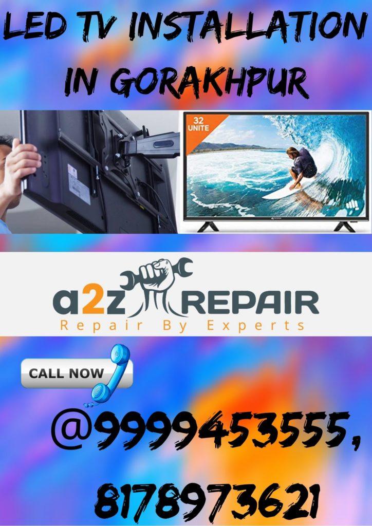 LED TV Installation in Gorakhpur