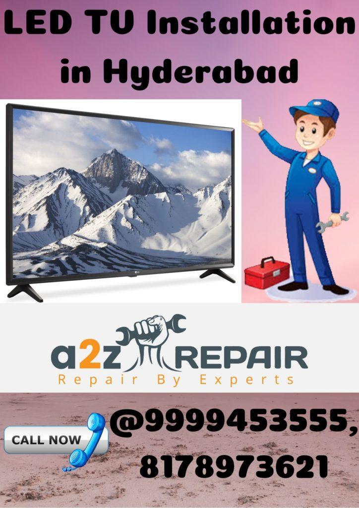 LED TV Installation in Hyderabad