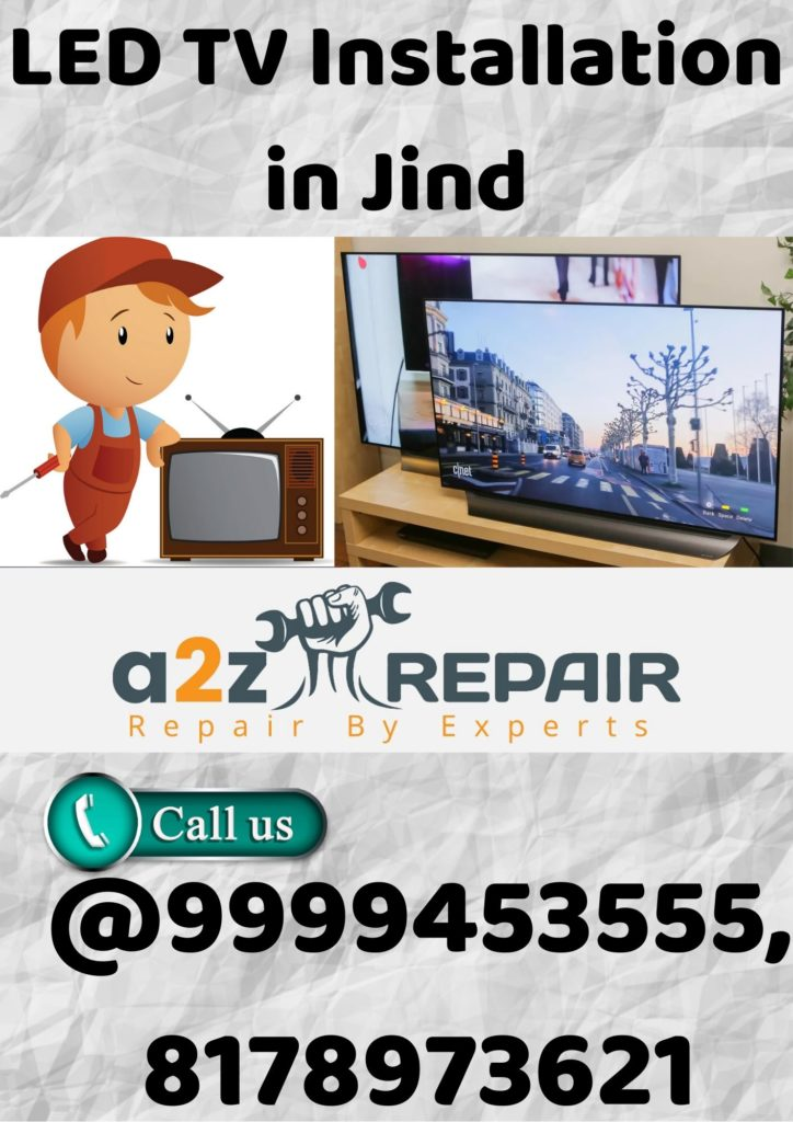 LED TV Installation in Jind