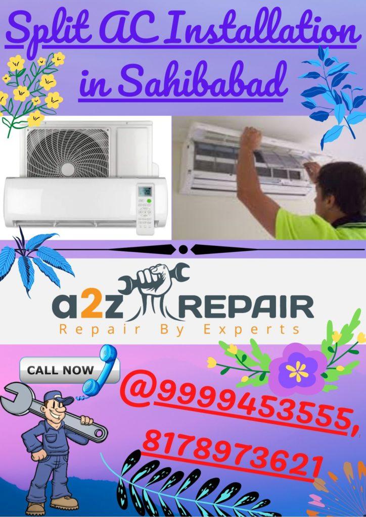 Split AC Installation in Sahibabad