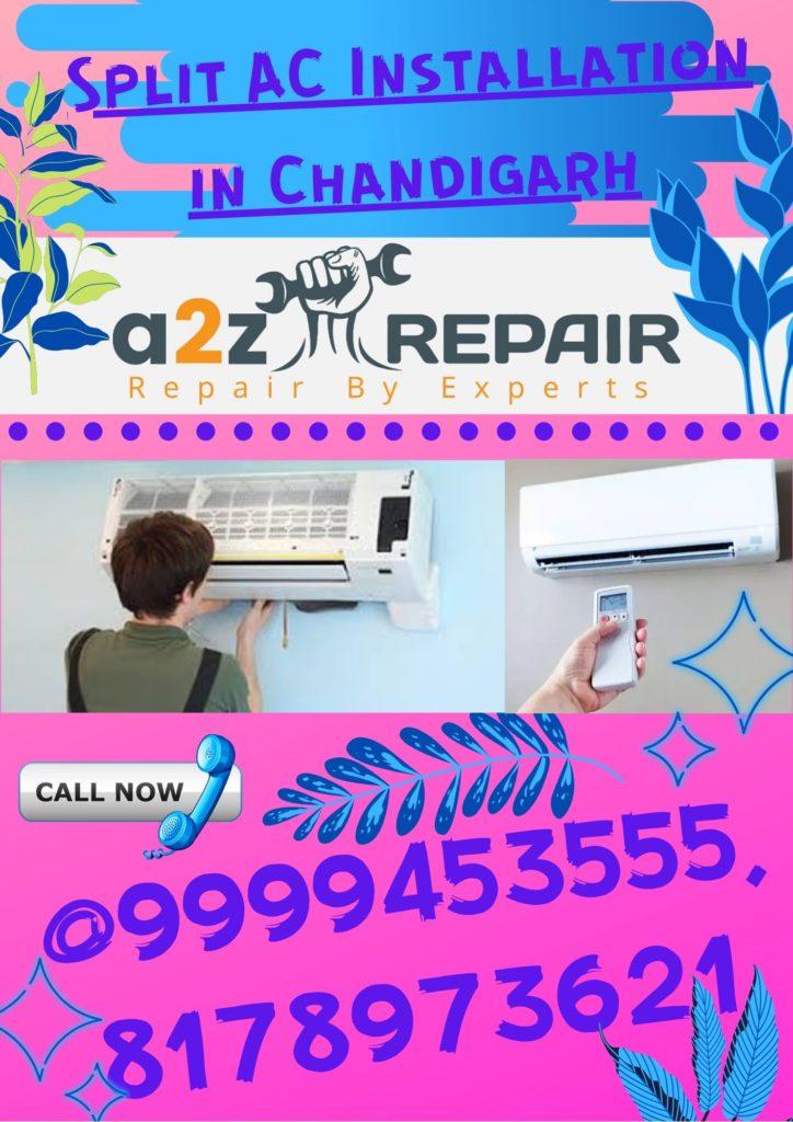 Split AC Installation in Chandigarh