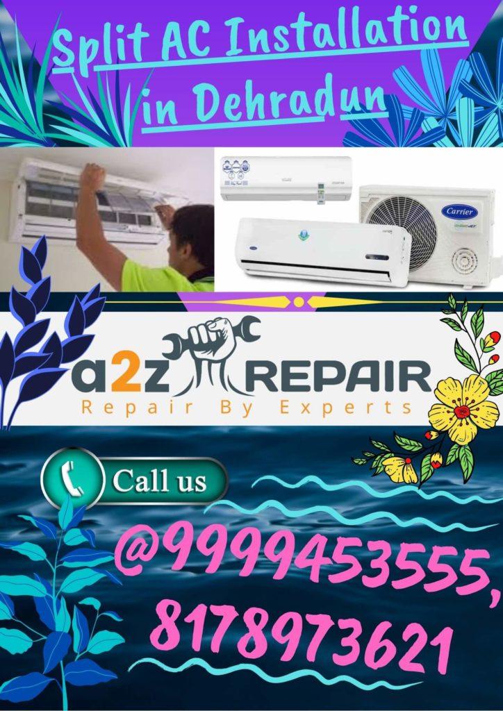 Split AC Installation in Dehradun