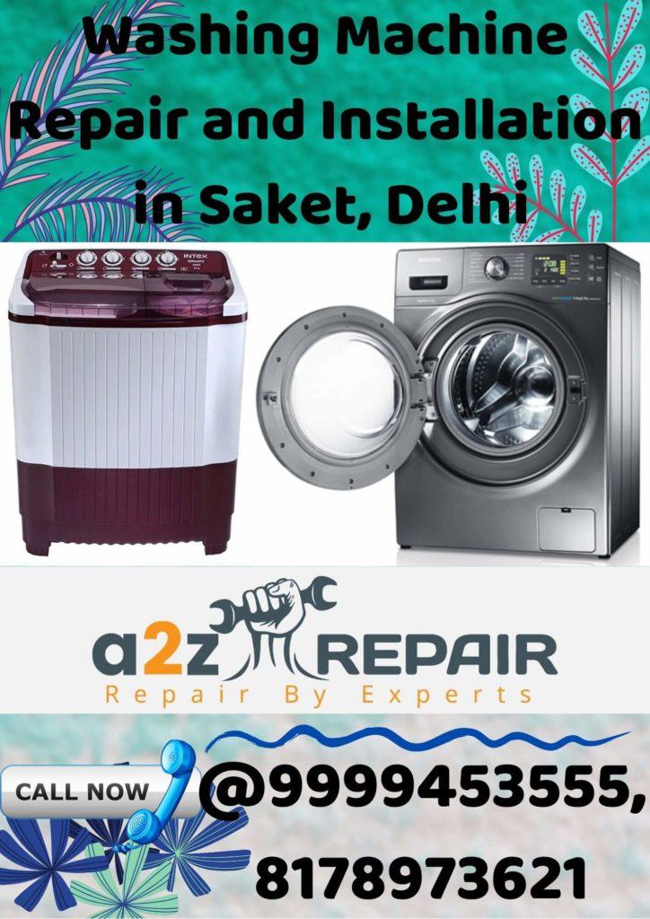 Washing Machine Repair and Installation in Saket