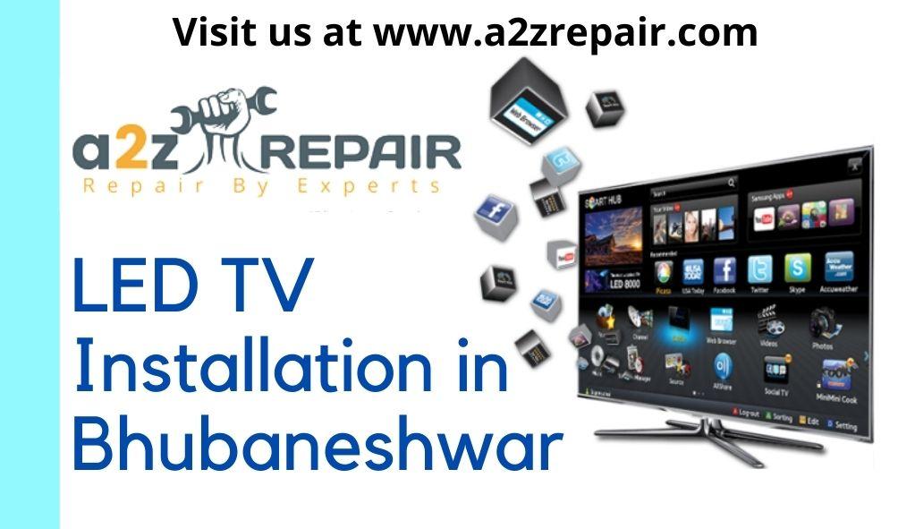 LED TV Installation in Bhubaneshwar