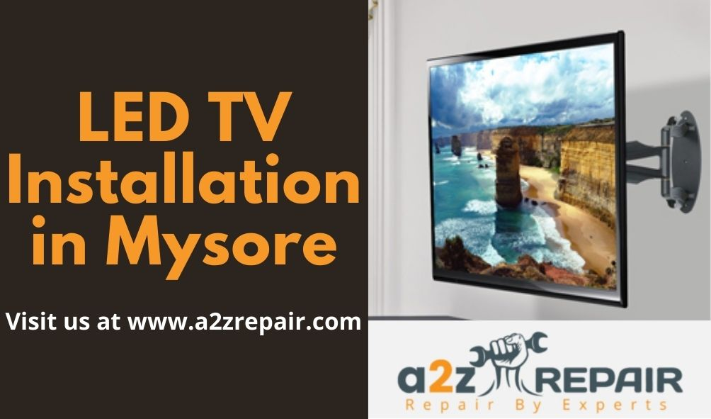 LED TV Installation in Mysore
