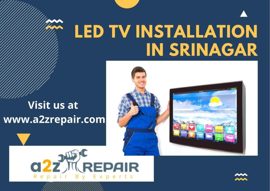 LED TV Installation in Srinagar