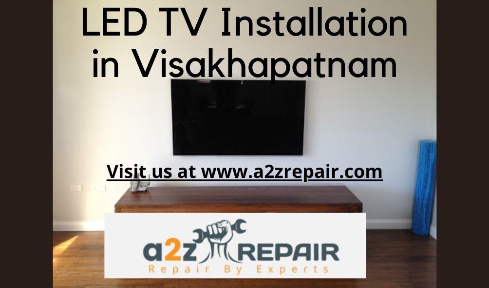 LED TV Installation in Visakhapatnam