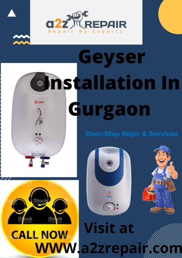 Geyser Installation In Gurgaon