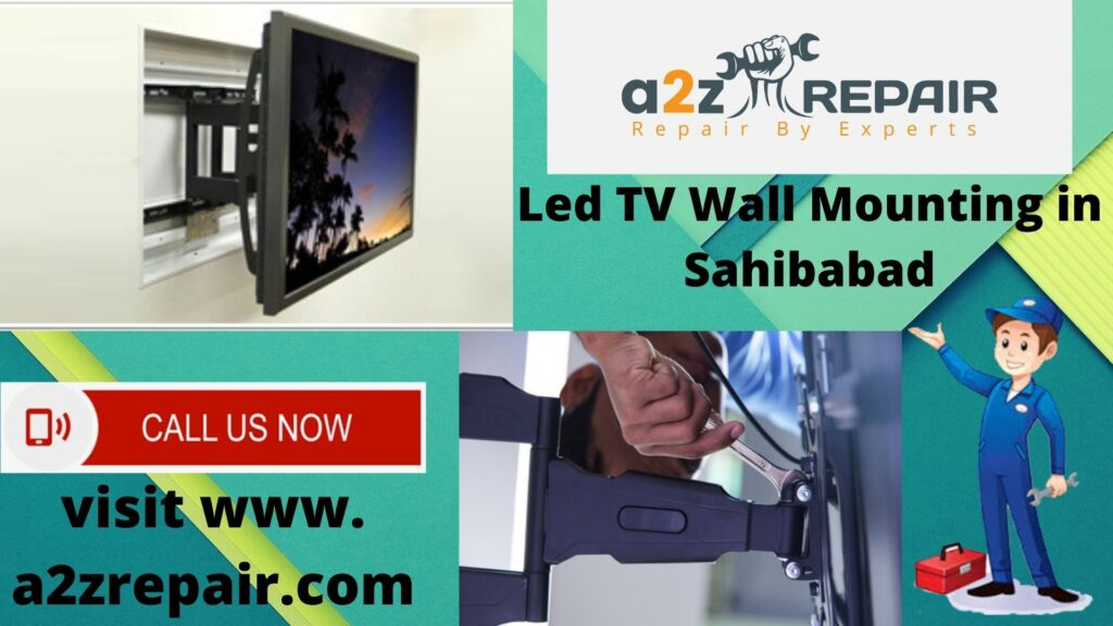 LED TvWall Mounting In Sahibabad