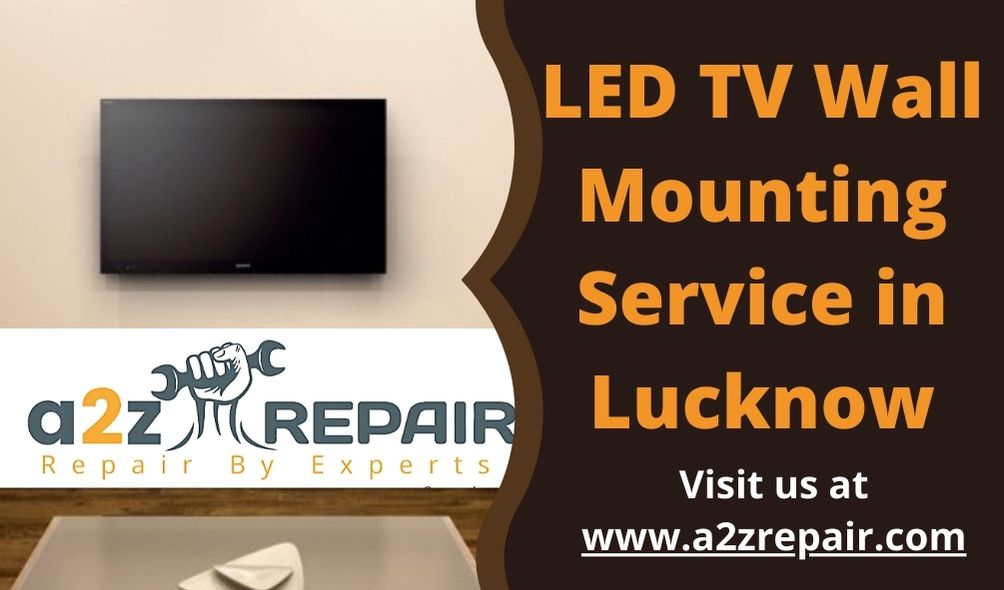 LED TV Wall Mounting Service in Lucknow