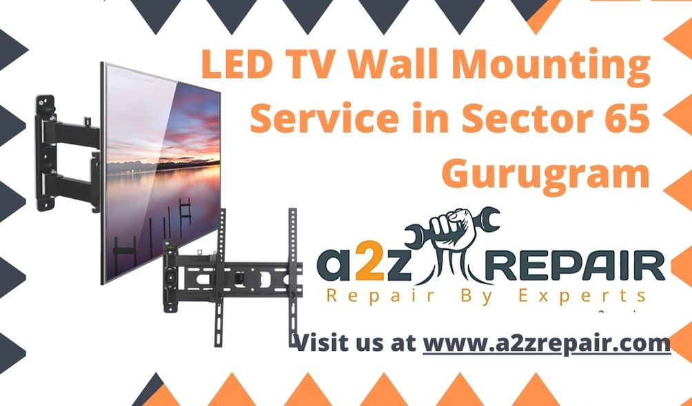 LED TV Wall Mounting Service in Sector 65 Gurugram